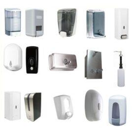 Dispenser para álcool gel e sabonete liquido de vários modelos